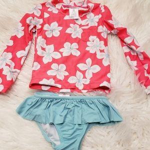 ❤3 for $15 5 for $20❤Toddler rashgaurd swimsuit:)